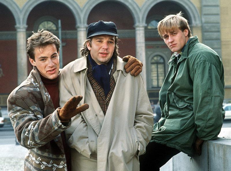 Hoffen auf eine Karriere als Schauspieler: v.l.: Ali (Gedeon Burkhard), Johannes (Kai Wiesinger) und Ingo (Jürgen Vogel). – Bild: WDR