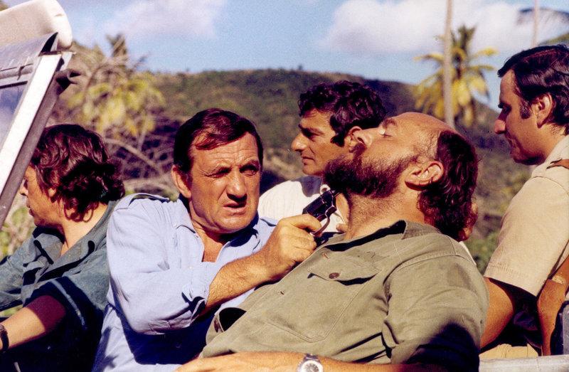 Jacques Brel (Jacques), Lino Ventura (Lino), Charles Denner (Simon), Charles Gérard (Charlot). – Bild: ORF