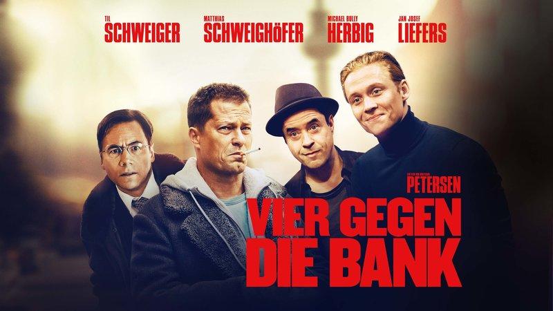 Vier gegen die Bank - Artwork – Bild: Sat.1