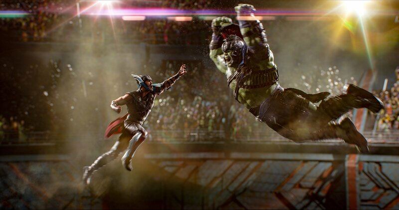 Chris Hemsworth (Thor), Mark Ruffalo (Bruce Banner / Hulk). – Bild: ORF