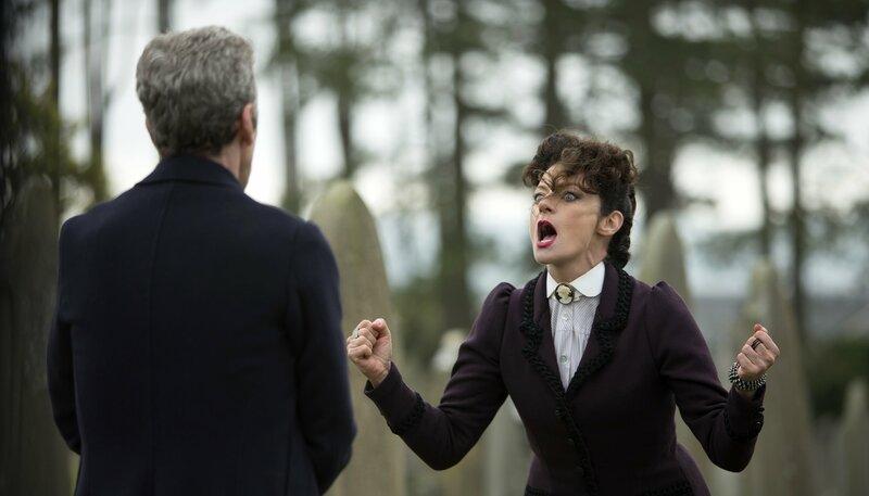 Der Doctor (Peter Capaldi) und Missy (Michelle Gomez) – Bild: WDR/BBC