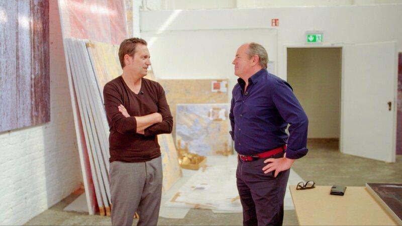 Inside Art 19 Dieter Nuhr Stephan Kaluza Fotos Farben Freundschaft Fernsehserien De