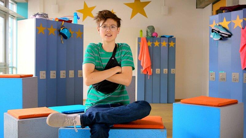 Tim (Moritz Schirdewahn) – Bild: Nickelodeon