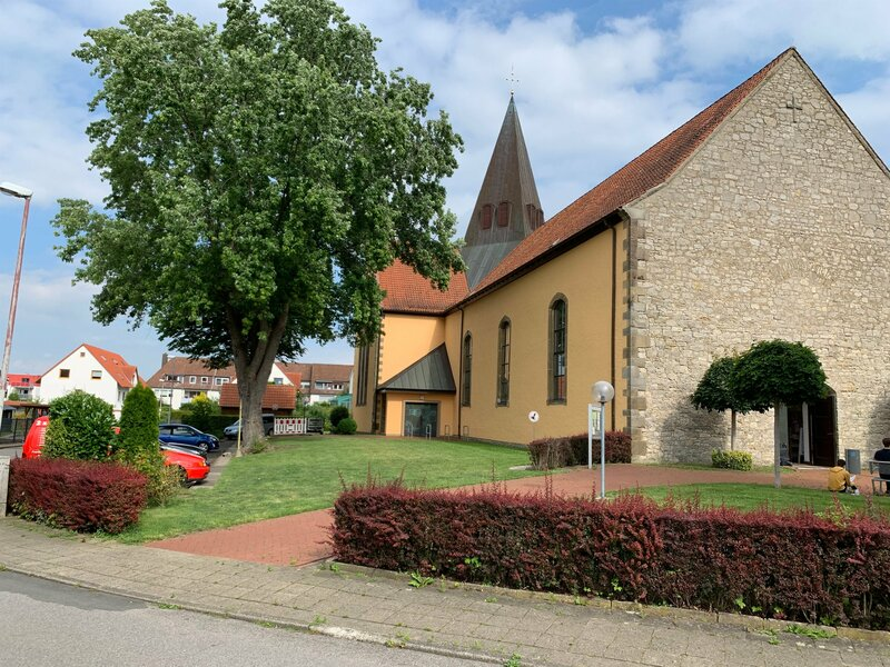 Der Sonntagsgottesdienst wird heute aus der Pfarrkirche Sankt Martinus in Hildesheim ausgestrahlt. – Bild: ZDF und Ulrich Fischer.