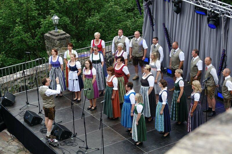 Vorführung auf der Burg Deutschlandsberg – Bild: Elke Kleindinst/Elke Kleindinst/Elke Kleindinst