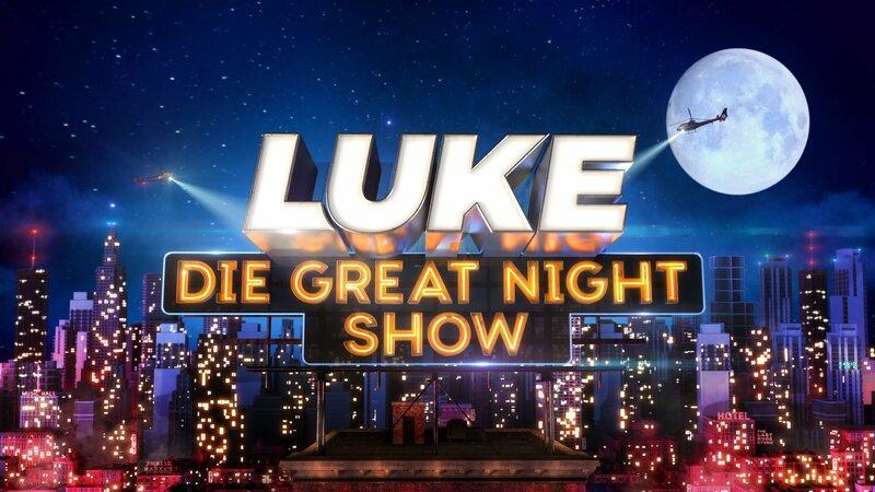LUKE! Die Greatnightshow - Logo – Bild: SAT.1 Eigenproduktionsbild frei