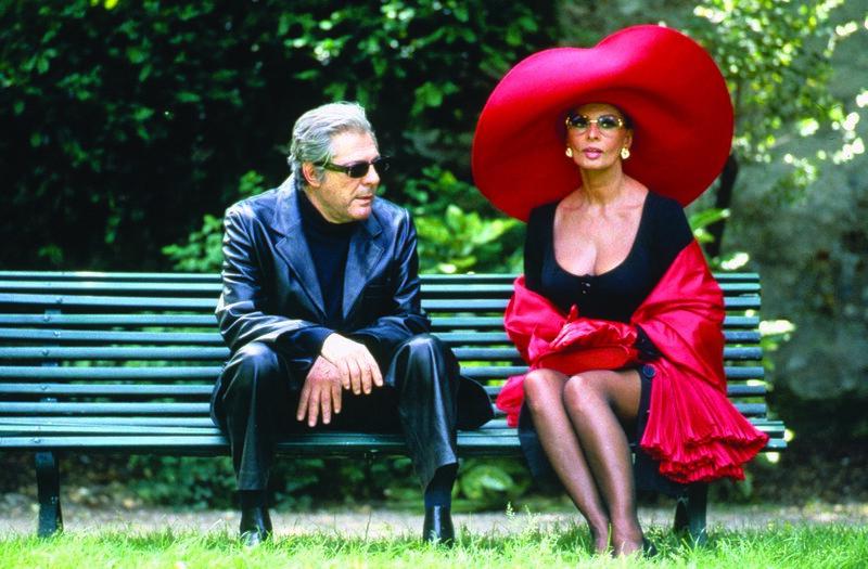 Sergei (Marcello Mastroianni, l.); Isabella de la Fontaine (Sophia Loren, r.) – Bild: 1994 Miramax, LLC. All Rights Reserved. Lizenzbild frei