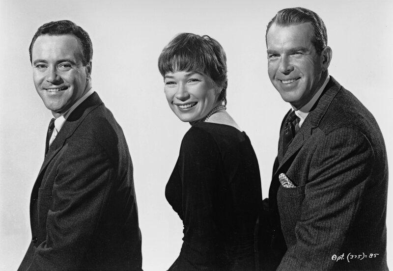 Jack Lemmon, Shirley MacLaine, Fred MacMurray – Bild: METRO GOLDWYN MAYER