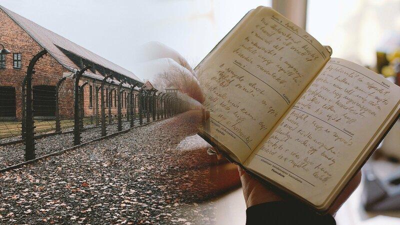Eine Weltsensation, wären sie nicht gefälscht gewesen: die Tagebücher von Auschwitz. – Bild: ZDF und Konstantin Gramalla./Konstantin Gramalla