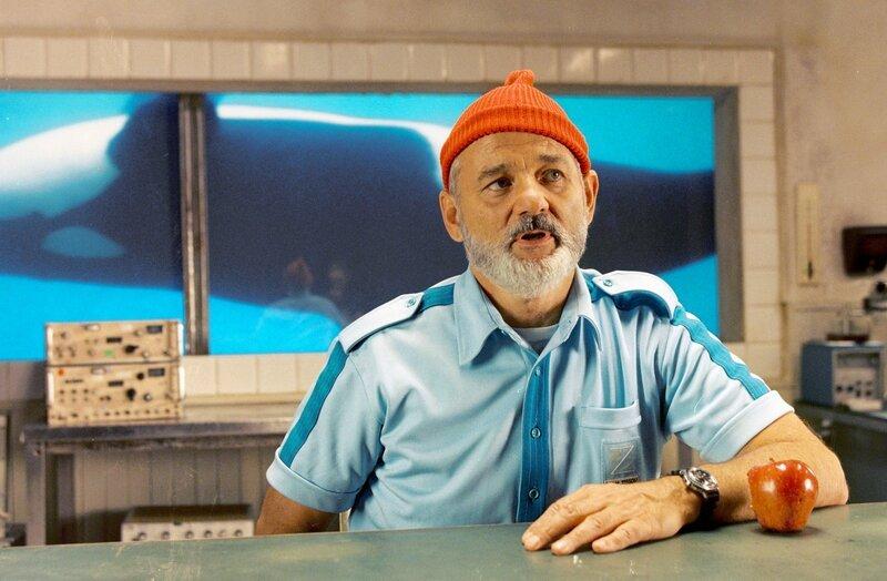 Unter Wasser fühlt er sich am wohlsten: Meeresforscher Steve Zissou (Bill Murray). – Bild: arte