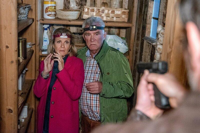 Andrea L'Arronge (Gräfin Schönberg), Heinz Marecek (Hannes Kofler). – Bild: ORF/Gebhardt productions/Stefanie Leo