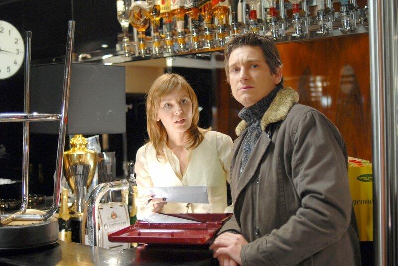 Antje Schmidt (Stefanie Rosenstein), Andreas Kiendl (Klaus Lechner). – Bild: ORF/BEO-Film/Bernd Schuller