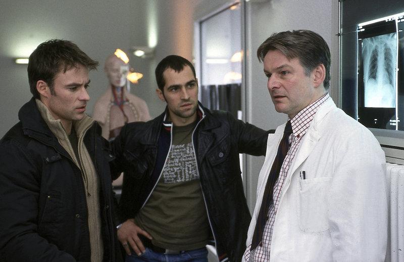 Marco Girnth, Gabriel Merz, Max Herbrechter – Bild: ZDF / UWE FRAUENDORF