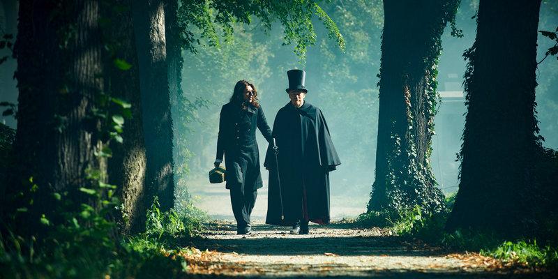 David Garett (Paganini), Jared Harris (Urbani). – Bild: BR Fernsehen