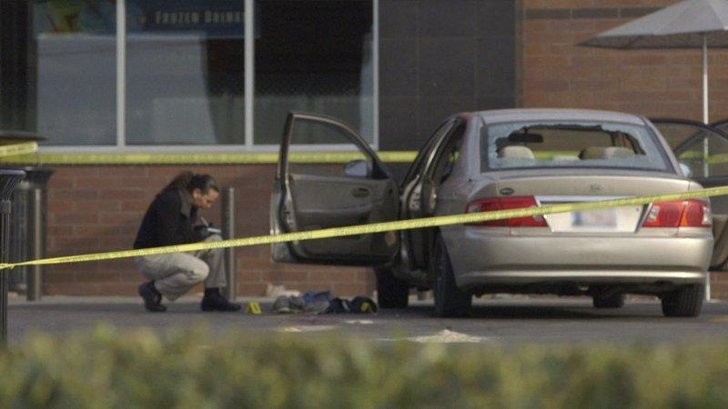 The crime scene – Bild: A&E