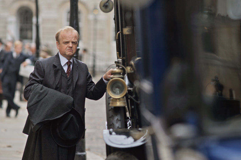 Toby Jones (John Littlewood). – Bild: ORF