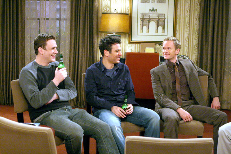 How I Met Your Mother HIMYM S02E19 Pikante Partys