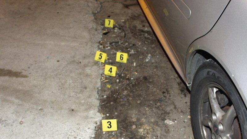 Crime scene – Bild: A&E