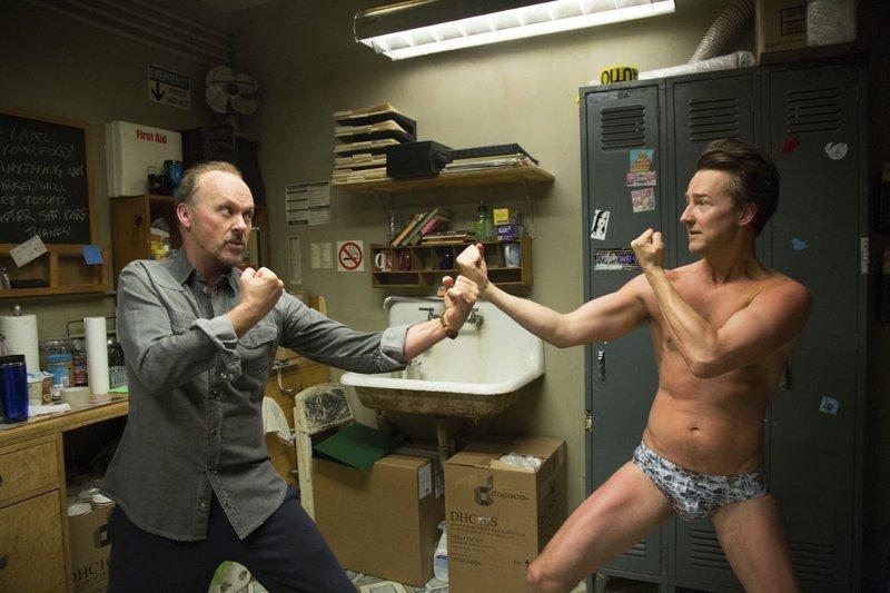 Edward Norton, Michael Keaton – Bild: (FSC:GK)