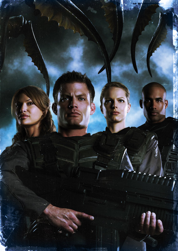 STARSHIP TROOPERS 3: MARAUDER - Artwork – Bild: Nitro