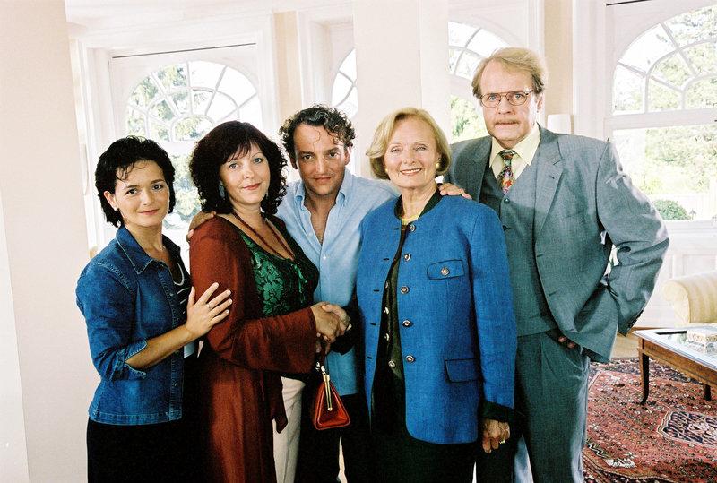 Katharina Stemberger, Elfie Eschke, Marco Rima, Ruth-Maria Kubitschek, Peter Fricke. – Bild: ORF