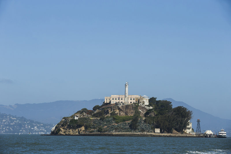 La prison d''Alcatraz – Bild: 2015 A&E / photo by David S. Holloway Lizenzbild frei