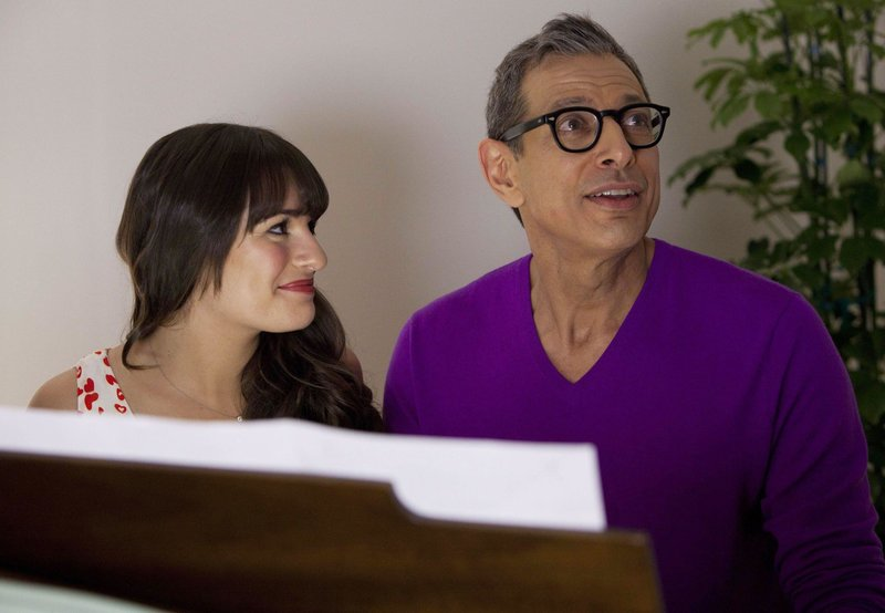 Rachel (Lea Michele) and Hiram (Jeff Goldblum) – Bild: Passion