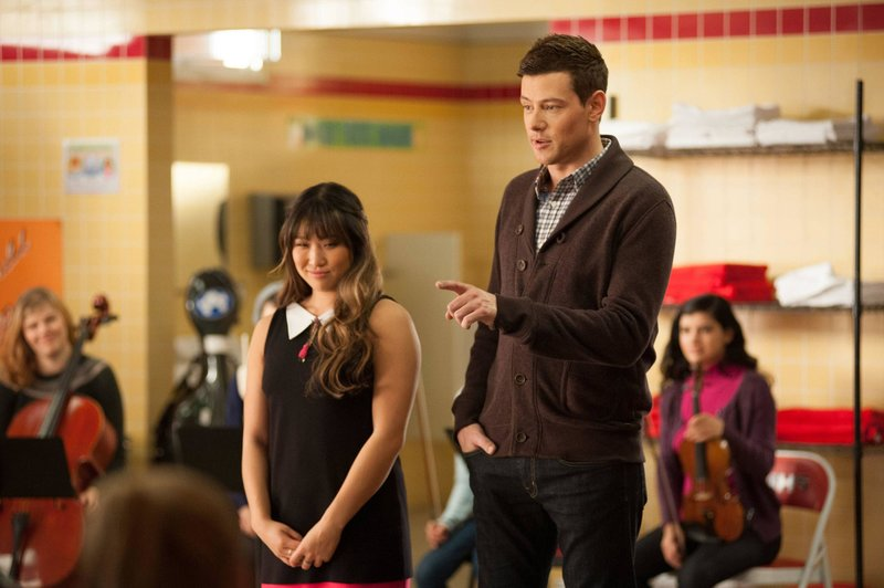 Tina (Jenna Ushkowitz) and Finn (Cory Monteith) – Bild: Passion
