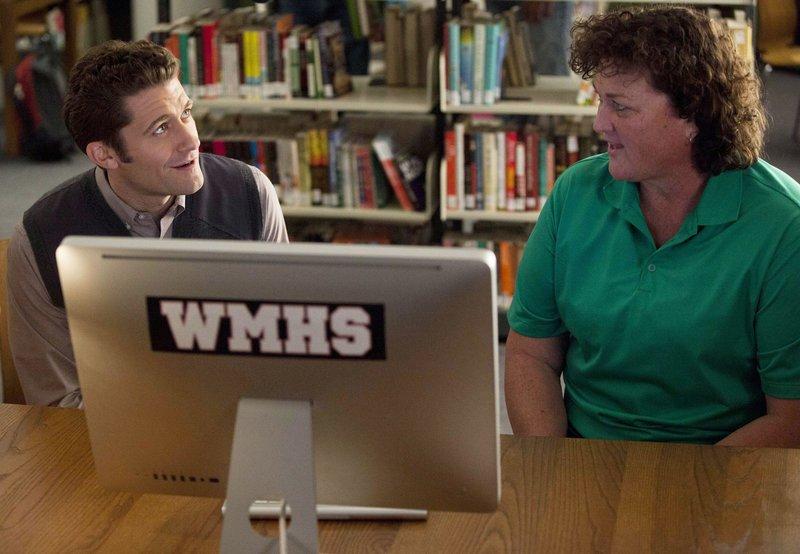 Will (Matthew Morrison) und Coach Beiste (Dot-Marie Jones) – Bild: Passion