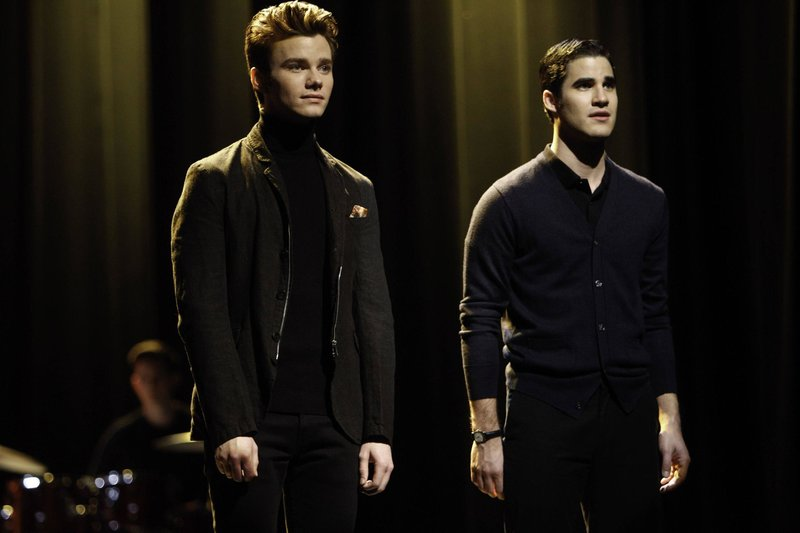 Kurt (Chris Colfer) und Blaine (Darren Criss, re.) – Bild: Passion