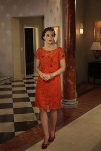 Chuck entschuldigt sich bei Ihr für alles, was er ihr in der Vergangenheit angetan hat: Blair (Leighton Meester) ... – © Warner Bros. Television Lizenzbild frei