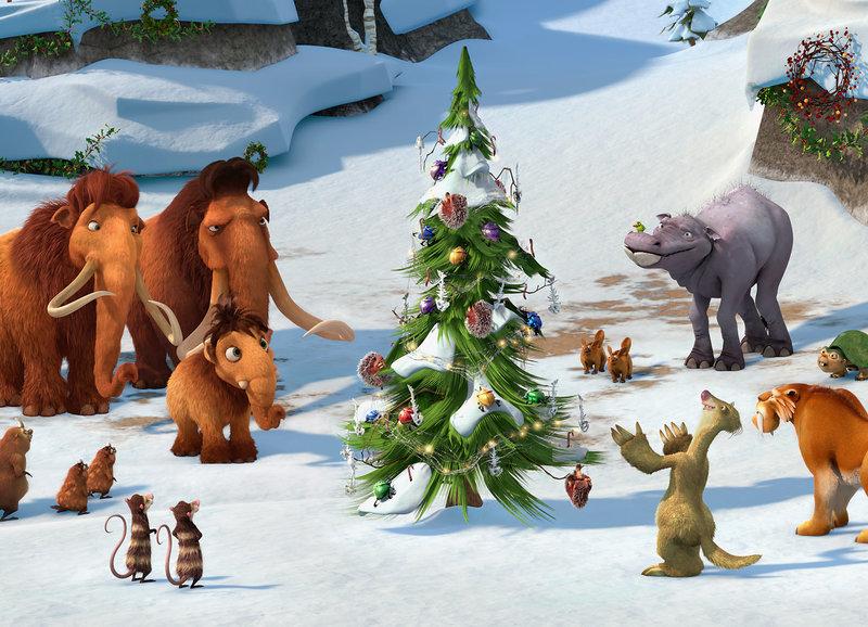 Ice Age 02 Eine Coole Bescherung Ice Age A Mammoth Christmas