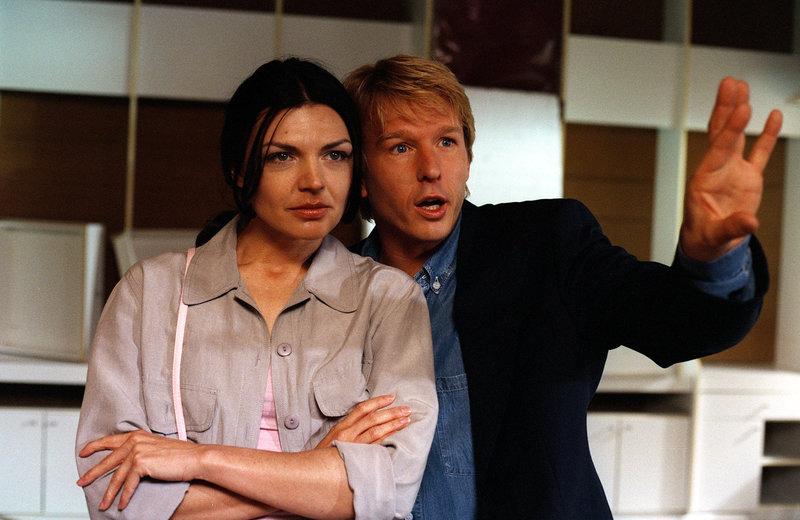 Doris Hick (Ines Schimek), Serge Falck (Pepi Schoitl). – Bild: ORF