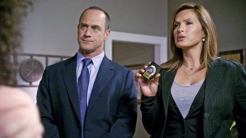 Season 11: Detective Elliot Stabler (Christopher Meloni) und Detective Olivia Benson (Mariska Hargitay). – Bild: Universal Channel