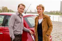 Marie Brand (Mariele Millowitsch), Jürgen Simmel (Hinnerk Schönemann) – © ZDF und © Frank Dicks