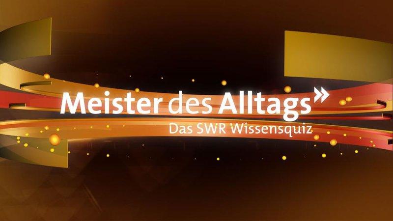 Meister des Alltags EXTRA (1) – Bild: SWR 2014