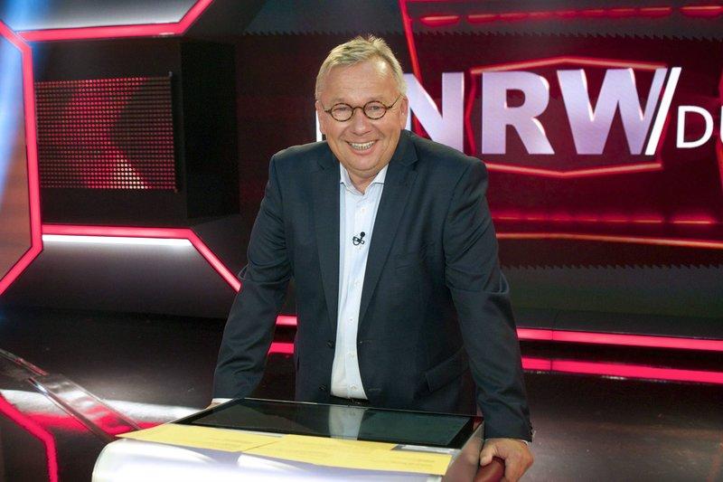 Moderator Bernd Stelter. – Bild: WDR