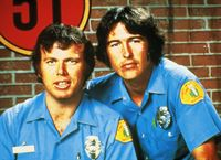 Die Rettungssanitäter Roy De Soto (Kevin Tighe, l.) und John Gage (Randolph Mantooth) – © RTL NITRO