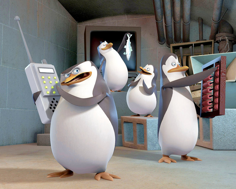 "Based on the characters in the hit DreamWorks Animation ""Madagascar"" feature films, Nickelodeon's new CG animated comedy series, The Penguins of Madagascar, features the all-new adventures of Skipper, Kowalski, Rico and Private, four penguins brothers who believe they lead an elite strike force from a Central Park Zoo headquarters.? The series will premiere on Nickelodeon on Saturday, March 29.? L-R – Bild: nickelodeon"