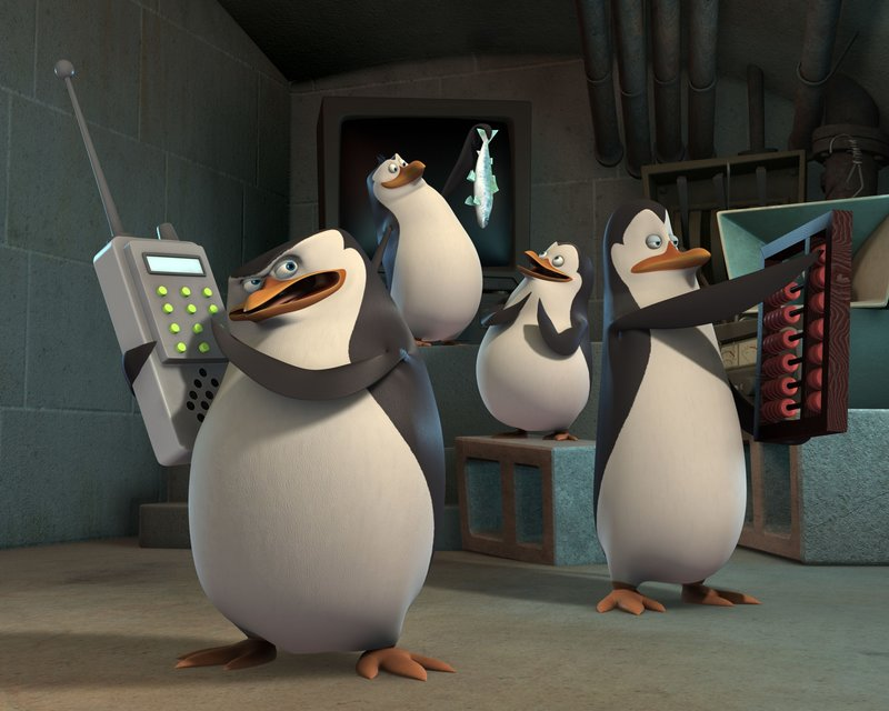 """Based on the characters in the hit DreamWorks Animation """"Madagascar"""" feature films, Nickelodeon's new CG animated comedy series, The Penguins of Madagascar, features the all-new adventures of Skipper, Kowalski, Rico and Private, four penguins brothers who believe they lead an elite strike force from a Central Park Zoo headquarters. The series will premiere on Nickelodeon on Saturday, March 29. L-R . – Bild: Photo credit:Nickelodeon"""