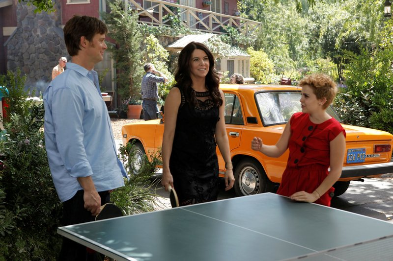 LAUREN GRAHAM, PETER KRAUSE, MAE WHITMAN. – Bild: Turner / (C) 2011/2012 OPEN 4 BUSINESS PRODUCTIONS, LLC. ALL RIGHTS RESERVED.