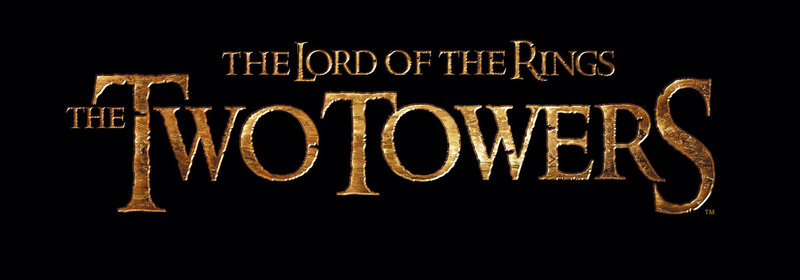 """The Lord of the Rings: The Two Towers"" - Originaltitel-Logo ... – Bild: Puls 4"