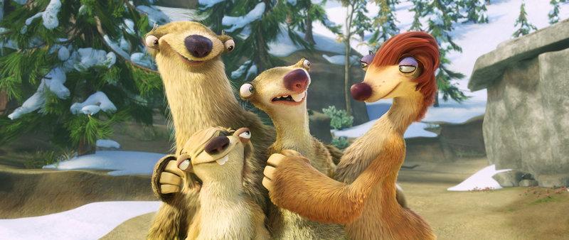 (v.l.n.r.) Milton, Marshall, Sid und Eunice ahnen noch nicht, dass sie gleich gewaltsam auseinandergerissen werden ... – Bild: Puls 4