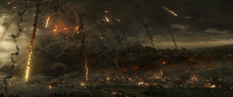 Für Milo und Cassia beginnt mit dem Ausbruch des Vesuvs ein gnadenloser Wettlauf mit der Zeit ... – Bild: Puls 4