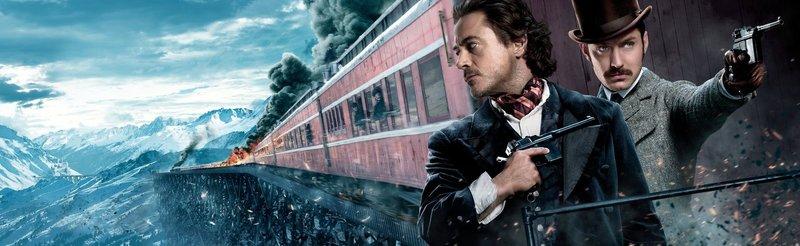Sherlock Holmes - Spiel im Schatten - Artwork – Bild: Puls 4