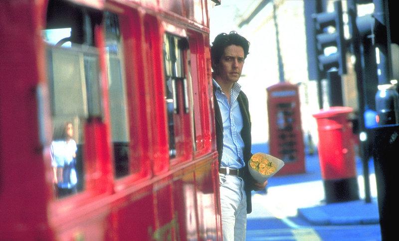 Nachdem William (Hugh Grant) und Anna ein paar zauberhafte Tage miteinander verbracht haben, erwartet den glücklichen Buchhändler eine unschöne Überraschung: Annas Freund ... – Bild: ProSieben Media AG © UniversalPictures