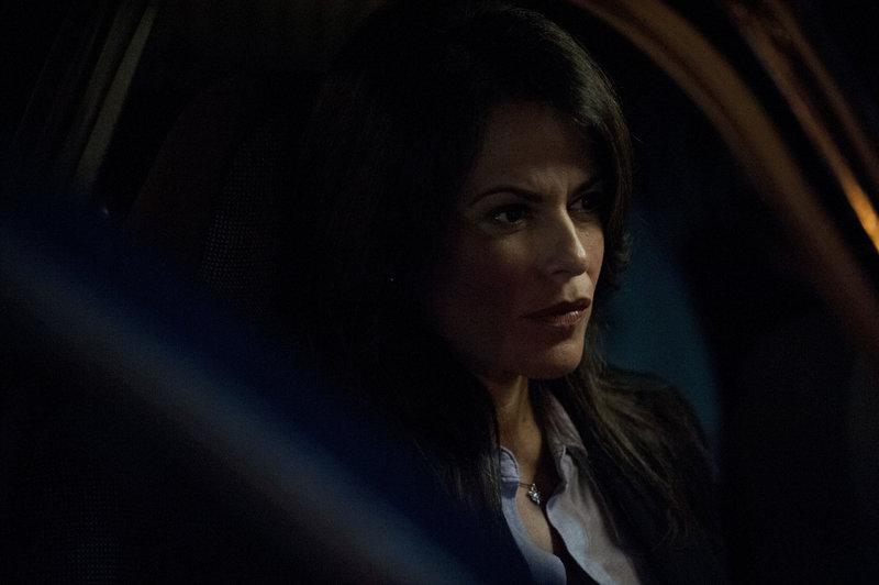 Diana Heller (Janene Carleton) ahnt nicht, dass ihr Mann nicht derjenige ist, für den er sich ausgibt ... – Bild: Puls 4