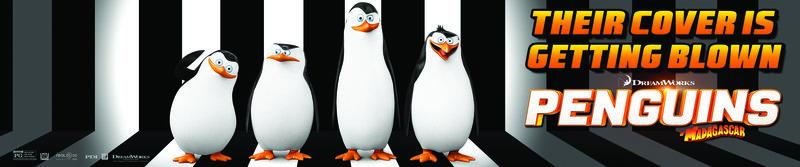 Penguins of Madagascar - Plakatmotiv – Bild: Puls 4
