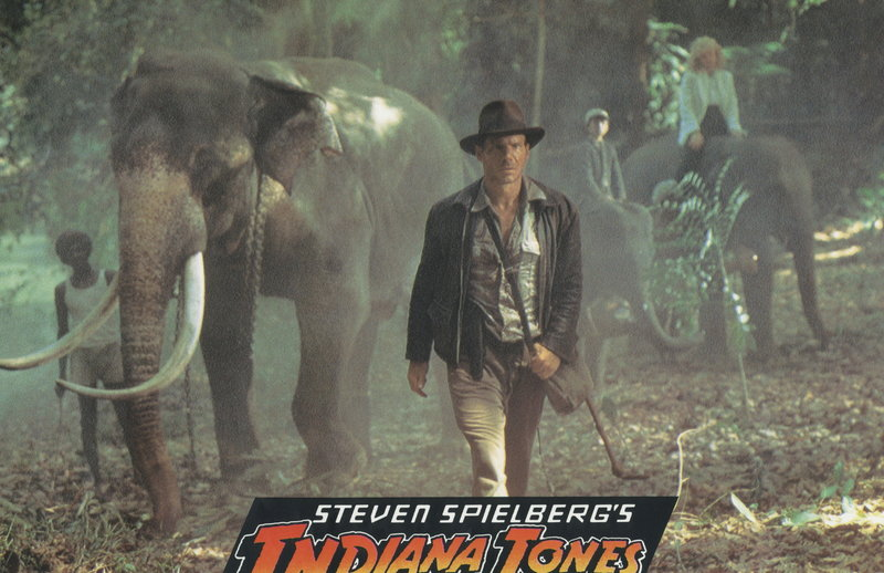 Selbst die Elefanten folgen nur einem: Indiana Jones (Harrison Ford) ... – Bild: Puls 4