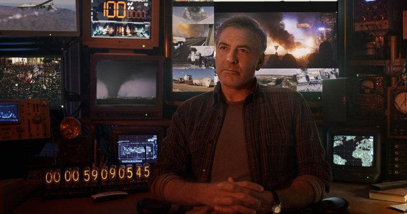 Als Junge wurde der erfinderische Frank Walker (George Clooney) ins futuristische Tomorrowland teleportiert und kann dort mit seinen Erfindungen einiges bewirken. Doch eine seiner entwickelten Maschinen könnte jetzt das Ende der Erde und der Menschheit bedeuten ... – Bild: Puls 4